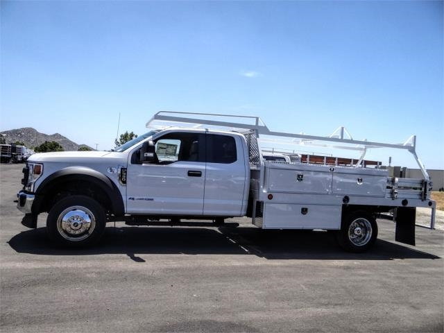 2020 Ford F-550 Super Cab DRW 4x2, Scelzi CTFB Contractor Body #FL1482 - photo 3