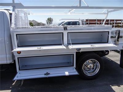 2020 Ford F-550 Super Cab DRW 4x2, Scelzi CTFB Contractor Body #FL1482 - photo 9