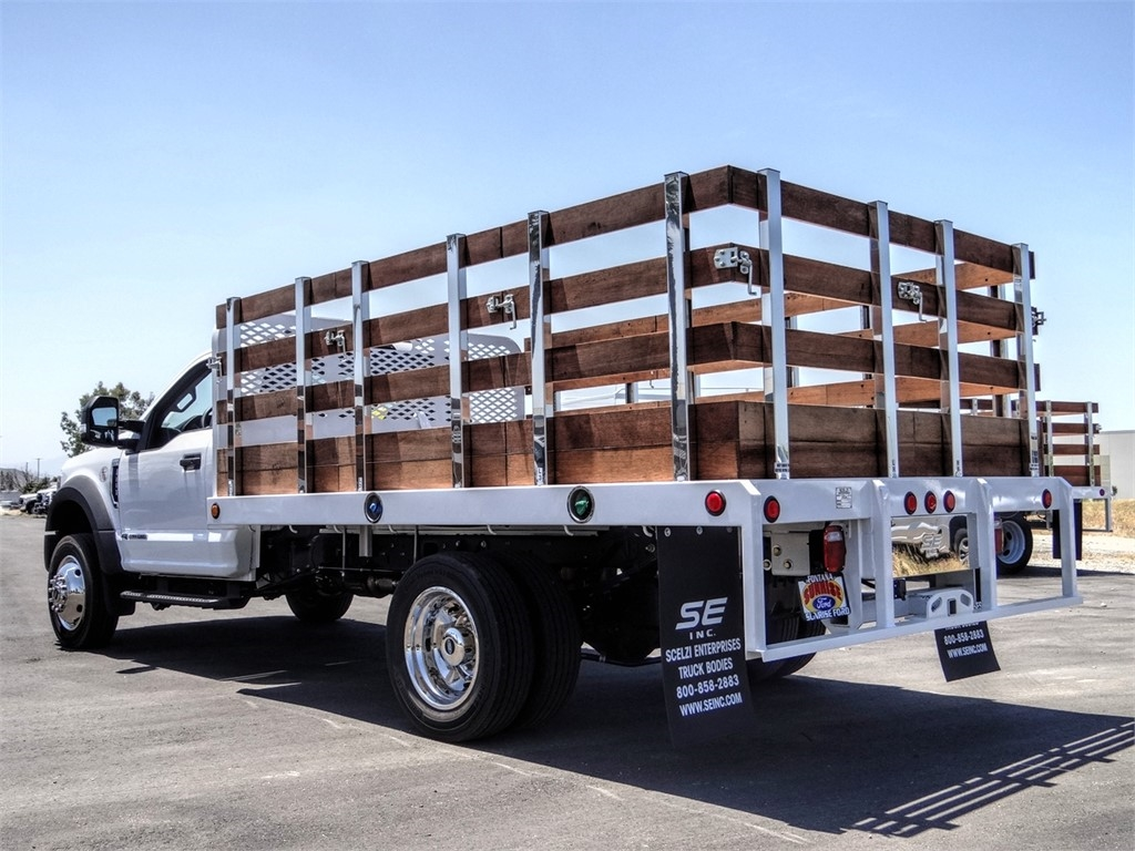2020 Ford F-450 Regular Cab DRW 4x2, Scelzi Stake Bed #FL1780 - photo 1