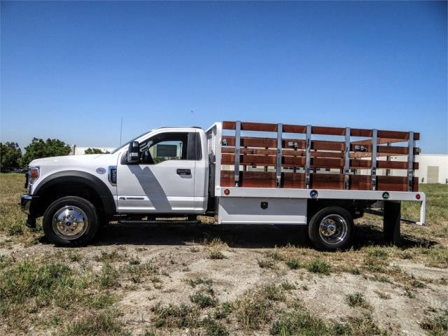 2020 Ford F-450 Regular Cab DRW 4x2, Scelzi WFB Stake Bed #FL1834 - photo 3
