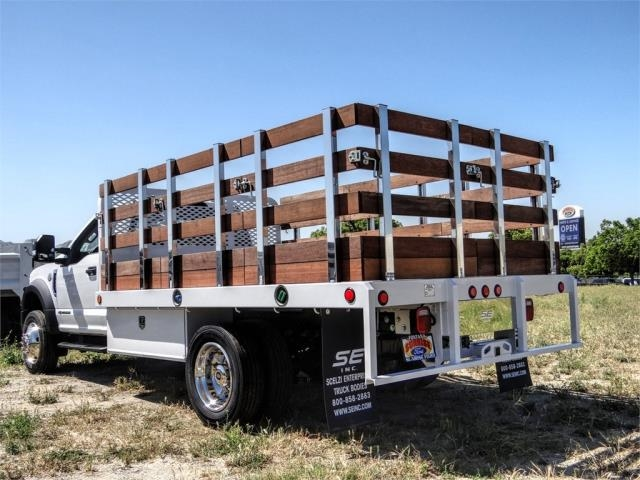 2020 Ford F-450 Regular Cab DRW 4x2, Scelzi WFB Stake Bed #FL1834 - photo 2