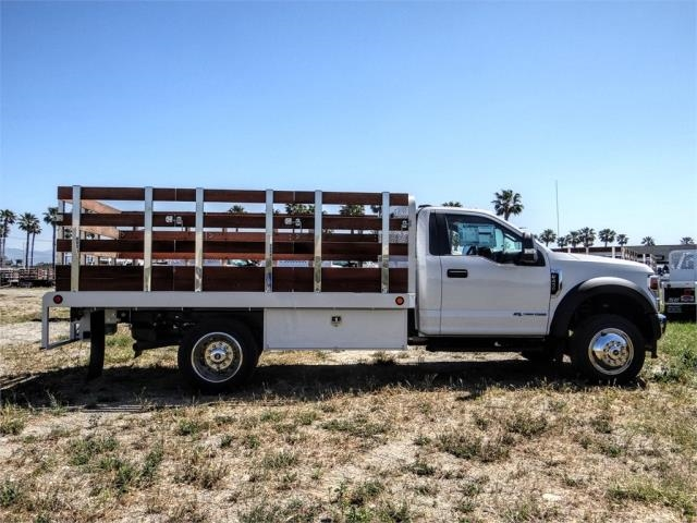 2020 Ford F-450 Regular Cab DRW 4x2, Scelzi WFB Stake Bed #FL1834 - photo 5