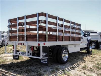 2020 Ford F-450 Regular Cab DRW 4x2, Scelzi WFB Stake Bed #FL1834 - photo 4