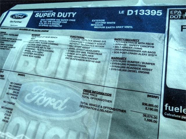 2020 Ford F-350 Super Cab 4x2, Scelzi Signature Service Body #FL1886 - photo 11