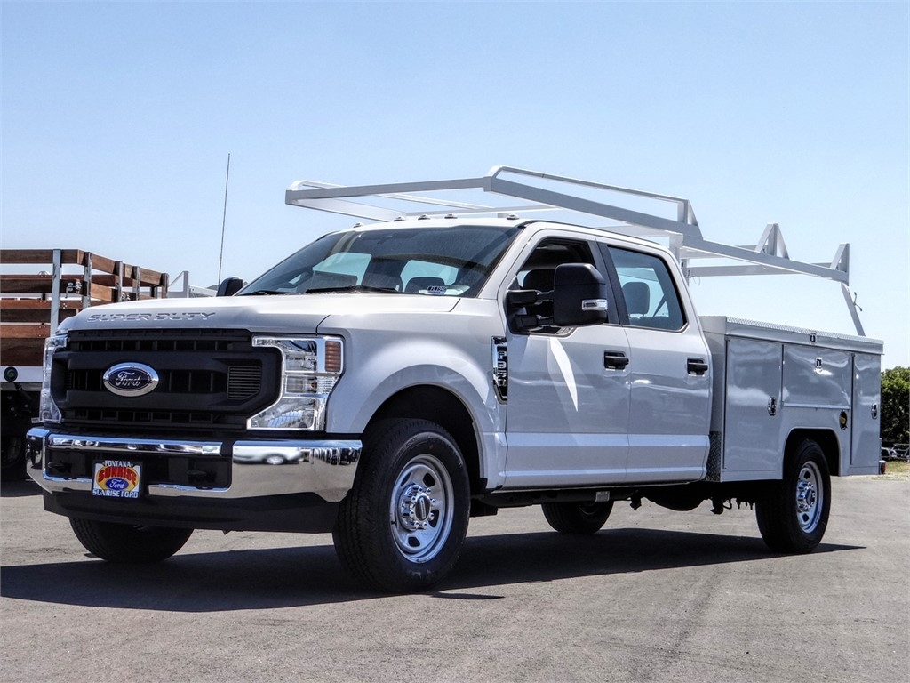 2020 Ford F-350 Crew Cab 4x2, Scelzi Service Body #FL1940 - photo 1