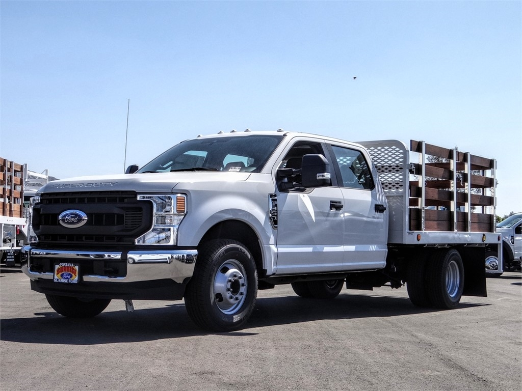 2020 F-350 Crew Cab DRW 4x2, Scelzi Stake Bed #FL2007 - photo 1