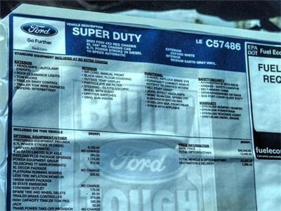 2020 Ford F-550 Regular Cab DRW 4x2, Scelzi WFB Stake Bed #FL2048 - photo 11