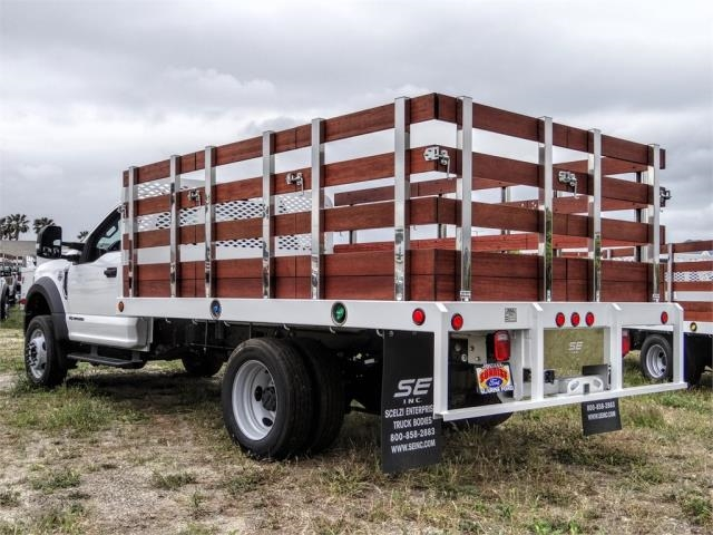 2020 Ford F-550 Regular Cab DRW 4x2, Scelzi WFB Stake Bed #FL2125 - photo 2