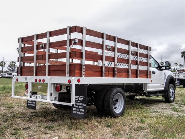 2020 Ford F-550 Regular Cab DRW 4x2, Scelzi WFB Stake Bed #FL2125 - photo 4