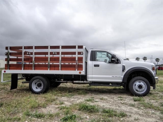 2020 Ford F-550 Regular Cab DRW 4x2, Scelzi WFB Stake Bed #FL2125 - photo 5