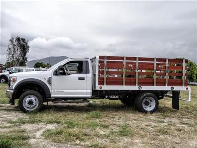 2020 Ford F-550 Regular Cab DRW 4x2, Scelzi WFB Stake Bed #FL2125 - photo 3