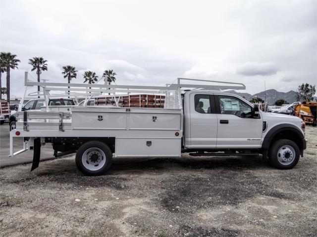 2020 Ford F-550 Super Cab DRW 4x2, Scelzi CTFB Contractor Body #FL2127 - photo 5