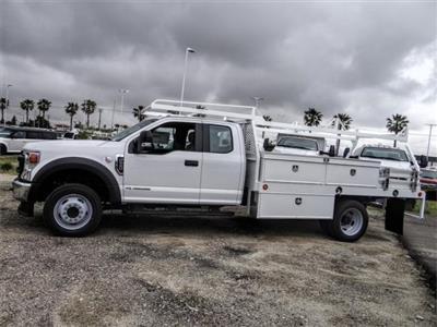 2020 Ford F-550 Super Cab DRW 4x2, Scelzi CTFB Contractor Body #FL2127 - photo 3