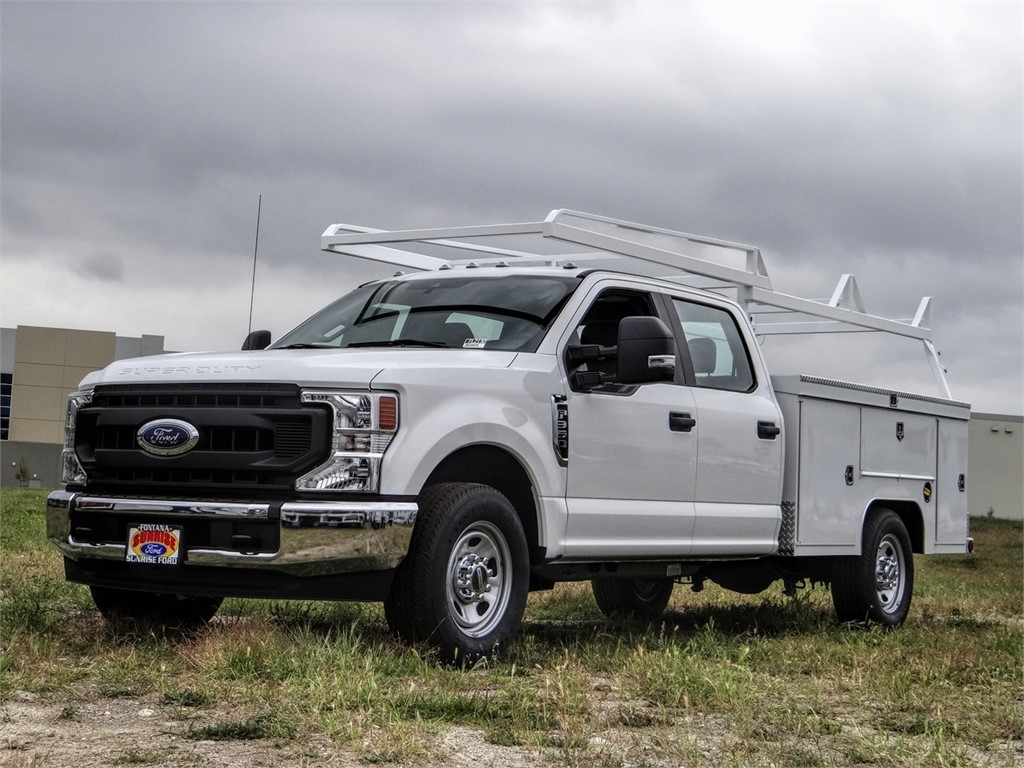 2020 Ford F-350 Crew Cab 4x2, Scelzi Service Body #FL2130 - photo 1