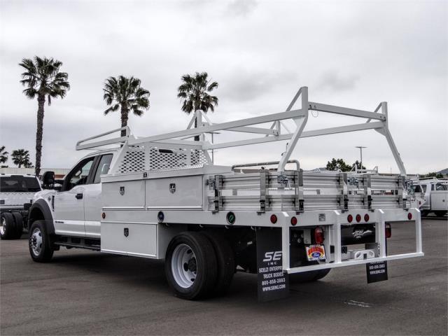 2020 Ford F-550 Super Cab DRW 4x2, Scelzi CTFB Contractor Body #FL2131 - photo 2