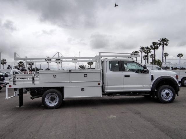 2020 F-550 Super Cab DRW 4x2, Scelzi CTFB Contractor Body #FL2131 - photo 5