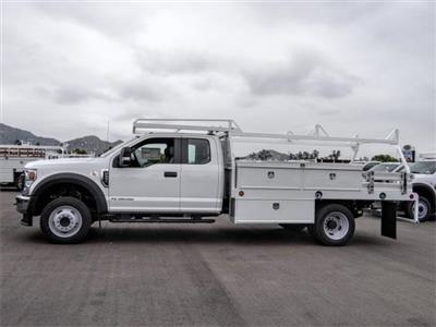 2020 Ford F-550 Super Cab DRW 4x2, Scelzi CTFB Contractor Body #FL2131 - photo 3