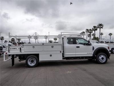 2020 Ford F-550 Super Cab DRW 4x2, Scelzi CTFB Contractor Body #FL2131 - photo 5
