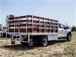 2020 Ford F-550 Super Cab DRW 4x2, Scelzi WFB Stake Bed #FL2135 - photo 4