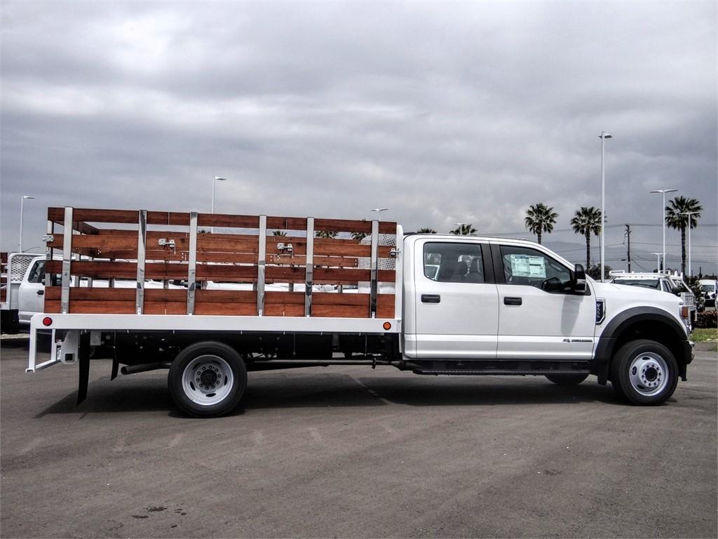 2020 Ford F-550 Crew Cab DRW 4x2, Scelzi WFB Stake Bed #FL2138 - photo 5