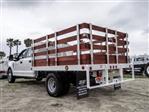 2020 Ford F-350 Crew Cab DRW 4x2, Scelzi WFB Stake Bed #FL2141 - photo 2