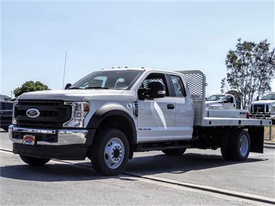 2020 F-550 Super Cab DRW 4x2, Scelzi WFB Flatbed #FL2148 - photo 1