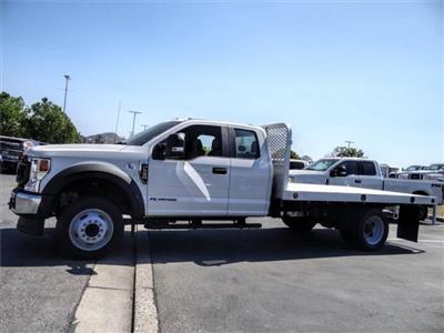 2020 F-550 Super Cab DRW 4x2, Scelzi WFB Flatbed #FL2148 - photo 3