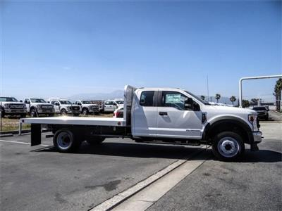 2020 F-550 Super Cab DRW 4x2, Scelzi WFB Flatbed #FL2148 - photo 5