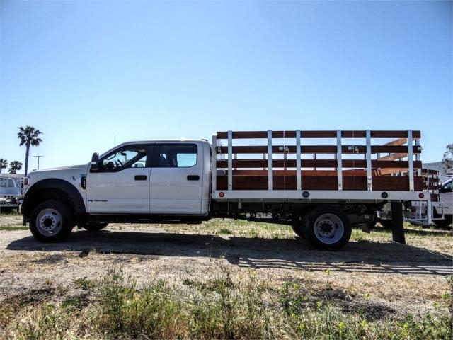 2020 Ford F-450 Crew Cab DRW 4x2, Scelzi WFB Stake Bed #FL2150 - photo 3