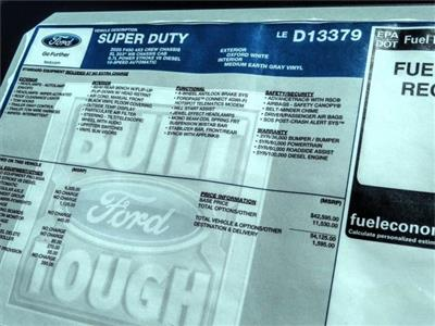 2020 Ford F-450 Crew Cab DRW 4x2, Scelzi WFB Stake Bed #FL2150 - photo 11
