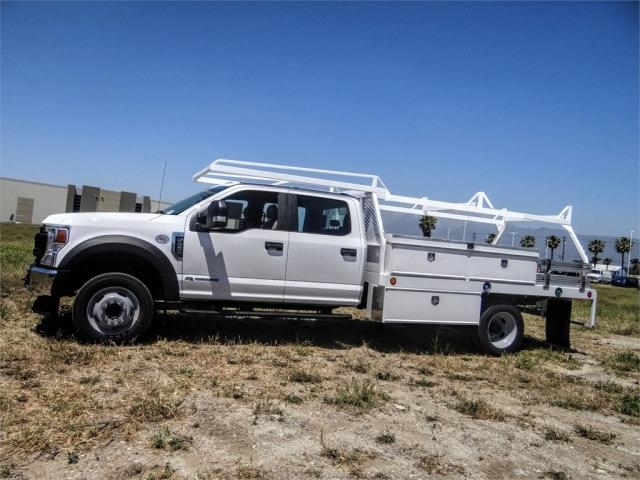 2020 Ford F-450 Crew Cab DRW 4x2, Scelzi CTFB Contractor Body #FL2181 - photo 3