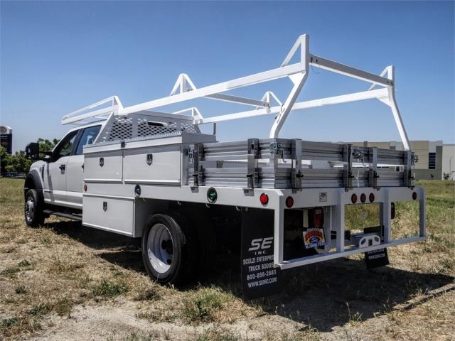 2020 Ford F-450 Crew Cab DRW 4x2, Scelzi CTFB Contractor Body #FL2181 - photo 2