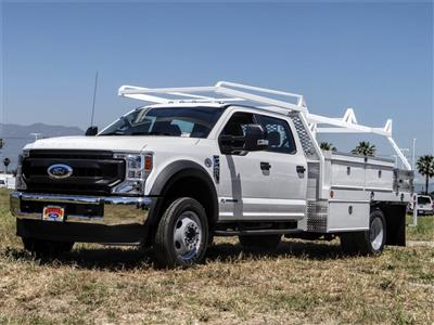 2020 Ford F-450 Crew Cab DRW 4x2, Scelzi CTFB Contractor Body #FL2181 - photo 1