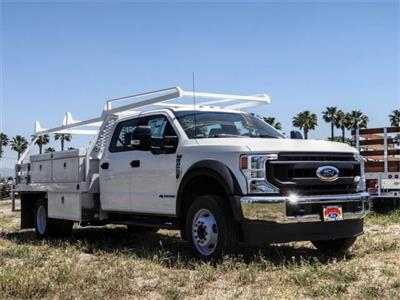 2020 Ford F-450 Crew Cab DRW 4x2, Scelzi CTFB Contractor Body #FL2181 - photo 6