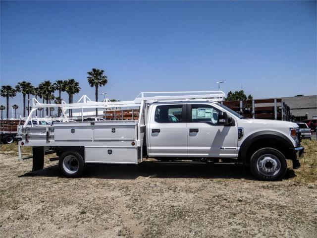 2020 Ford F-450 Crew Cab DRW 4x2, Scelzi CTFB Contractor Body #FL2182 - photo 5