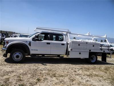 2020 Ford F-450 Crew Cab DRW 4x2, Scelzi CTFB Contractor Body #FL2182 - photo 3