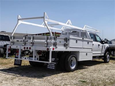 2020 Ford F-450 Crew Cab DRW 4x2, Scelzi CTFB Contractor Body #FL2182 - photo 4