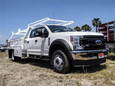 2020 Ford F-450 Crew Cab DRW 4x2, Scelzi CTFB Contractor Body #FL2182 - photo 6