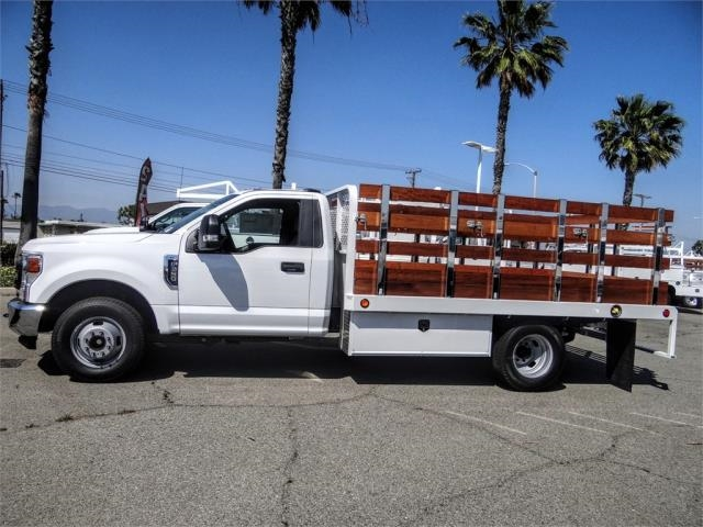 2020 F-350 Regular Cab DRW 4x2, Scelzi WFB Stake Bed #FL2183 - photo 3