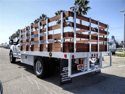 2020 F-350 Regular Cab DRW 4x2, Scelzi WFB Stake Bed #FL2183 - photo 2