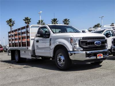 2020 F-350 Regular Cab DRW 4x2, Scelzi WFB Stake Bed #FL2183 - photo 6