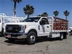 2020 F-350 Regular Cab DRW 4x2, Scelzi WFB Stake Bed #FL2183 - photo 1