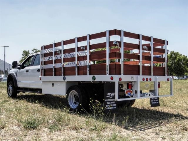 2020 Ford F-450 Crew Cab DRW 4x2, Scelzi WFB Stake Bed #FL2192 - photo 2