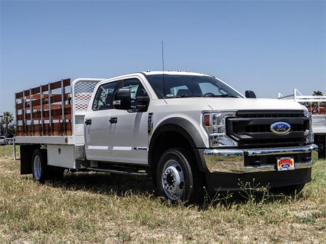 2020 Ford F-450 Crew Cab DRW 4x2, Scelzi WFB Stake Bed #FL2192 - photo 6