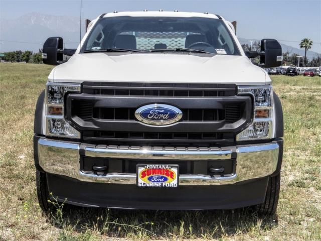 2020 Ford F-450 Crew Cab DRW 4x2, Scelzi WFB Stake Bed #FL2192 - photo 7