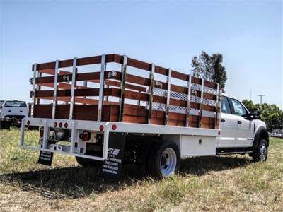 2020 Ford F-450 Crew Cab DRW 4x2, Scelzi WFB Stake Bed #FL2192 - photo 4