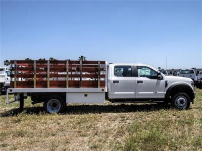 2020 Ford F-450 Crew Cab DRW 4x2, Scelzi WFB Stake Bed #FL2192 - photo 5