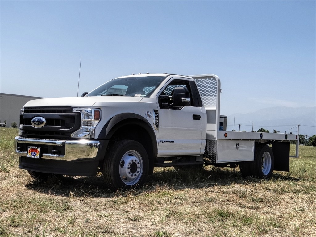 2020 Ford F-450 Regular Cab DRW 4x2, Scelzi Flatbed #FL2193 - photo 1