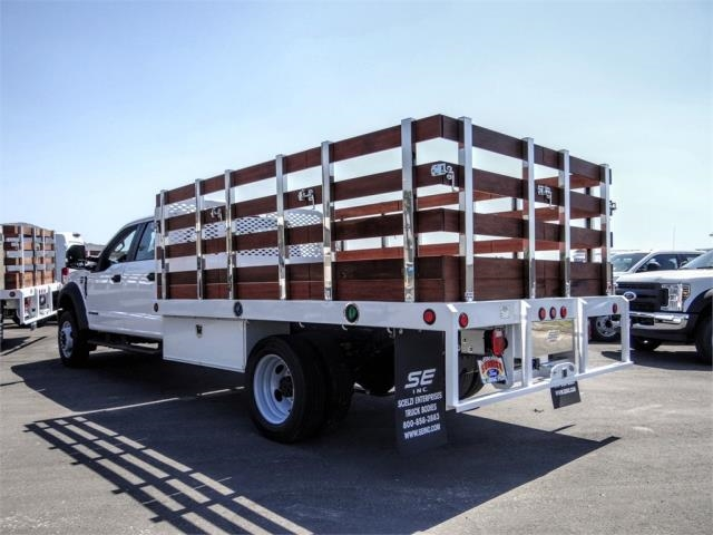 2020 F-450 Crew Cab DRW 4x2, Scelzi Stake Bed #FL2194 - photo 1
