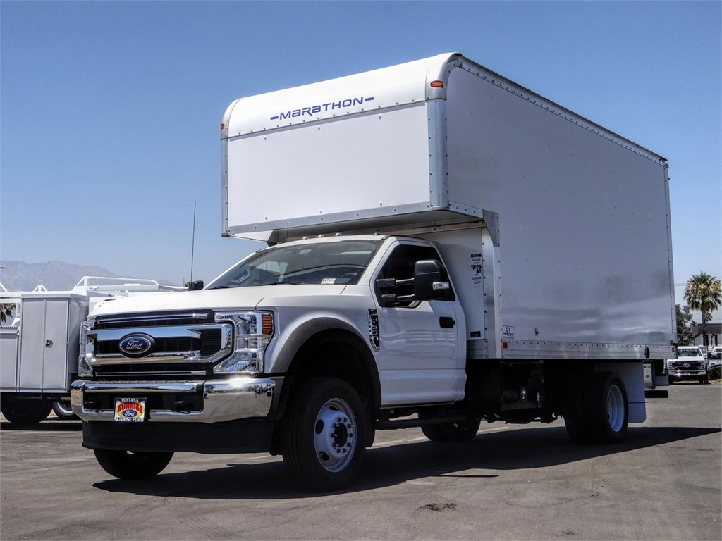 2020 Ford F-550 Regular Cab DRW 4x2, Marathon FRP High Cube Dry Freight #FL2195 - photo 1